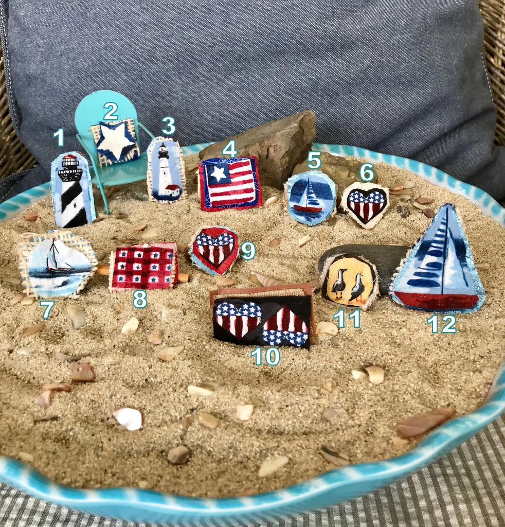 Seaside Tiny Pins